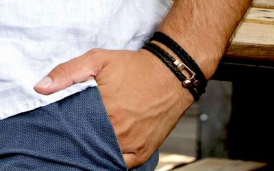 Regali Preziosi per Lui: 5 Bracciali da Uomo che Lasciano il Segno