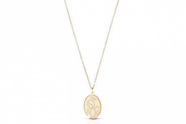 collana con medaglietta regali battesimo